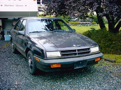 Guber-X 1989 Dodge Shadow
