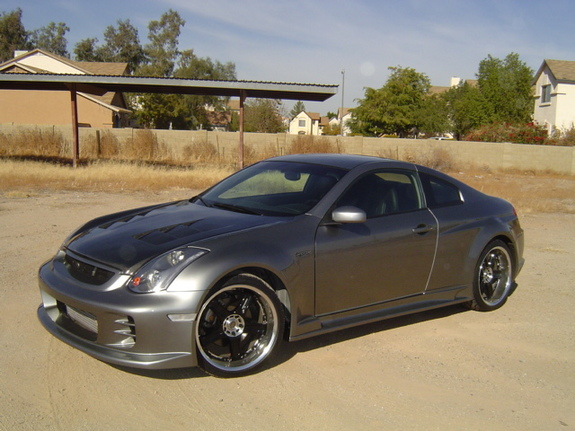 widebody350gt 2005 infiniti g specs photos modification info at cardomain. Black Bedroom Furniture Sets. Home Design Ideas