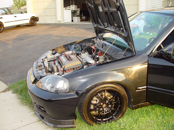 Large on Nitros Honda Civic
