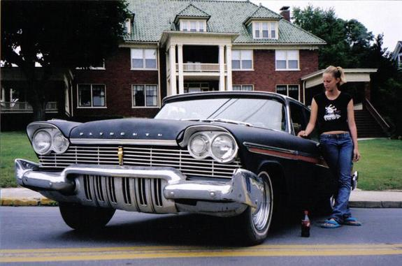 Another evil57 1957 Plymouth Belvedere post... - 7094796