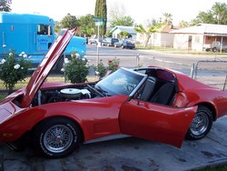 Corvette Stingray  Sale Ebay on Stingray666s 1975 Chevrolet Corvette