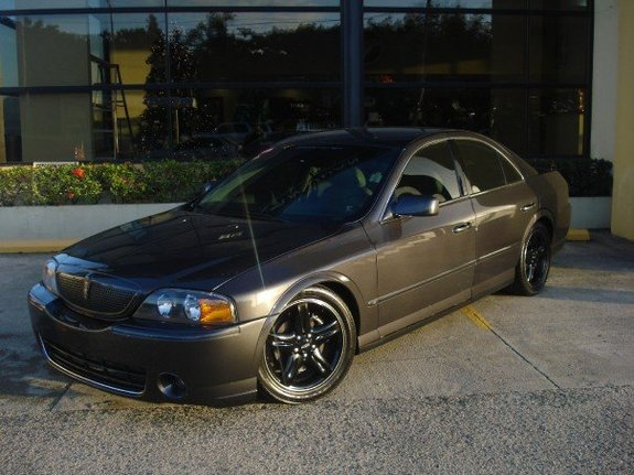 Large on Rear Suspension On 2001 Lincoln Ls