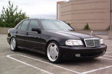 kisso's 1998 Mercedes-Benz C-Class in glasgow,