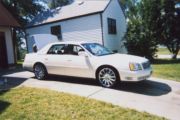 2002 Cadillac Deville On 20s Kgcaddy's 2002 cadillac deville in omaha