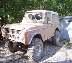97toyot 1973 Ford Bronco