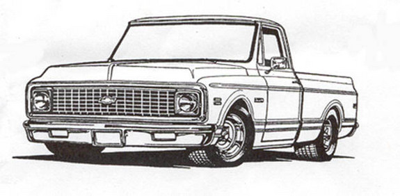 49 best chevy images on Pinterest   Car drawings, Chevrolet trucks ...