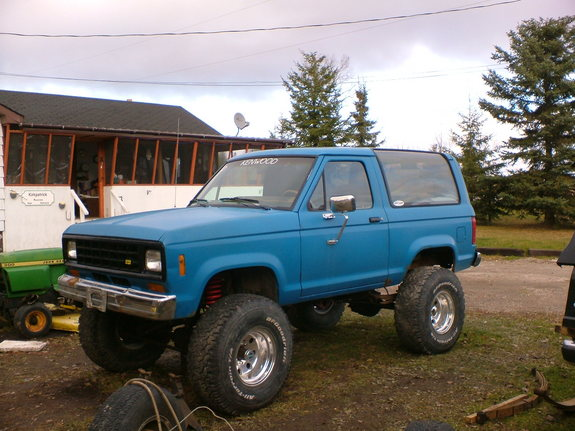 rustyballs 1986 ford bronco ii specs photos modification. Black Bedroom Furniture Sets. Home Design Ideas