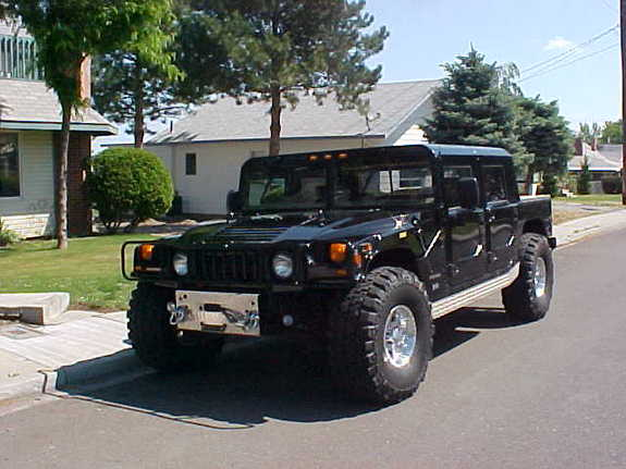 Large on Hummer H1 Open Top Gas Ctis 4x4 New Engine