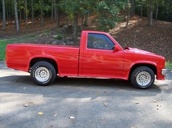 89dakotashelby 1989 Dodge Dakota Regular Cab & Chassis
