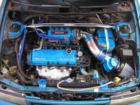lunchboxishott 1993 mazda protege specs photos modification info at cardomain cardomain