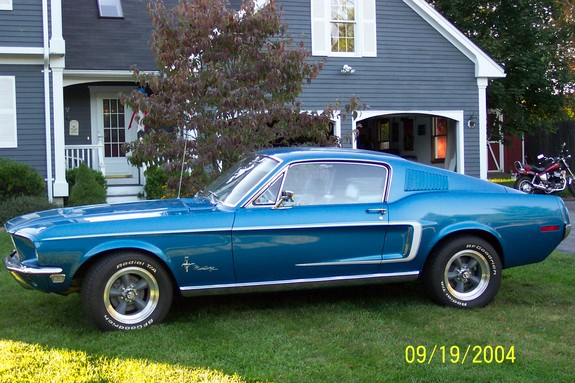 68Jcode's 1968 Ford Mustang