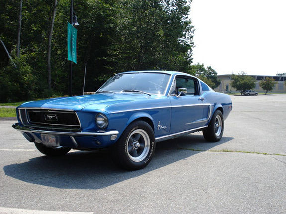 68Jcode 1968 Ford Mustang 7182447
