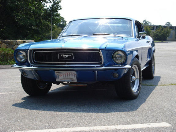 68Jcode 1968 Ford Mustang 7182448