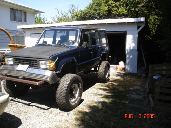 Bluedog68 1989 Isuzu Trooper Specs Photos Modification Info At