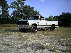 240dfh 1990 Dodge Ram 1500 Regular Cab