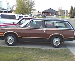 SVOwagon 1980 Ford Pinto