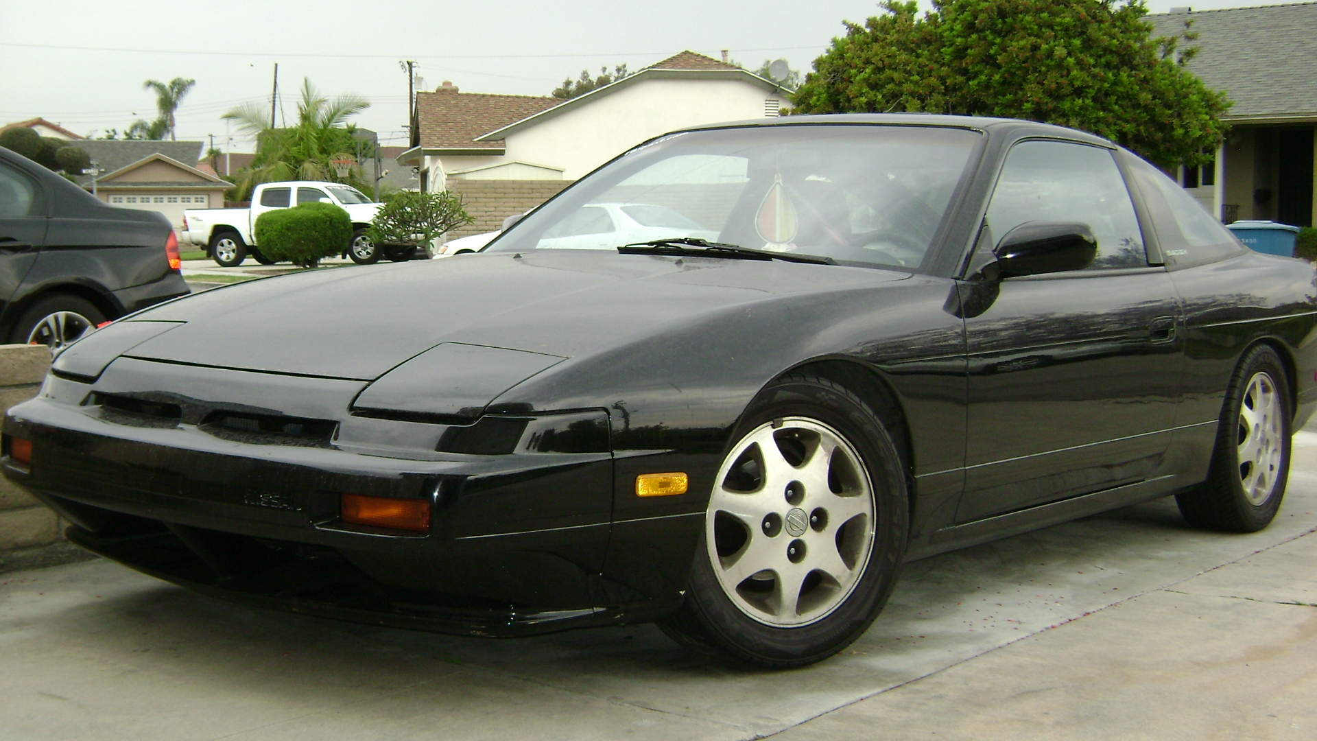 djmumbles 39 s 1990 nissan 240sx in huntington beach ca. Black Bedroom Furniture Sets. Home Design Ideas