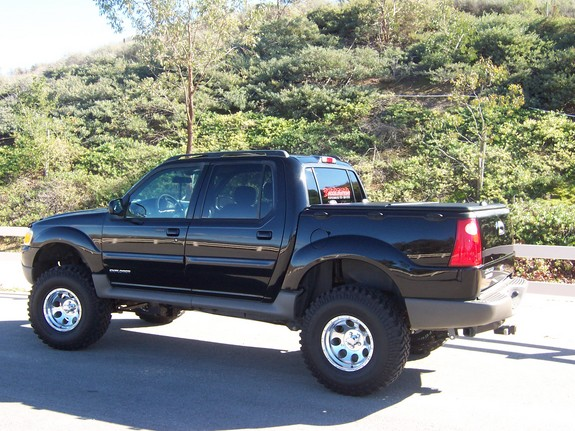 Techtrac 2001 Ford Explorer Sport Trac Specs Photos Modification Info At Cardomain