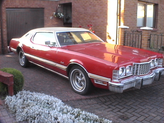 Ozoutlaw 1974 Ford Thunderbird 21774250001 Large