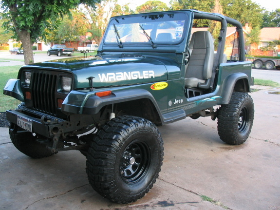 Tx Yj 1993 Jeep Wrangler Specs Photos Modification Info