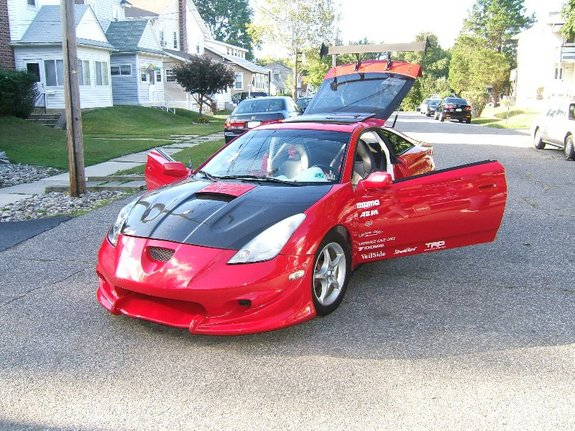 celicgts 39 s 2000 toyota celica in ridley pa. Black Bedroom Furniture Sets. Home Design Ideas