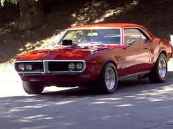 Retrobirds 1968 Pontiac Firebird