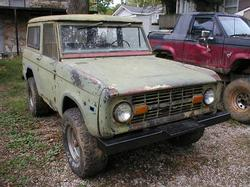 DaBrown 1971 Ford Bronco