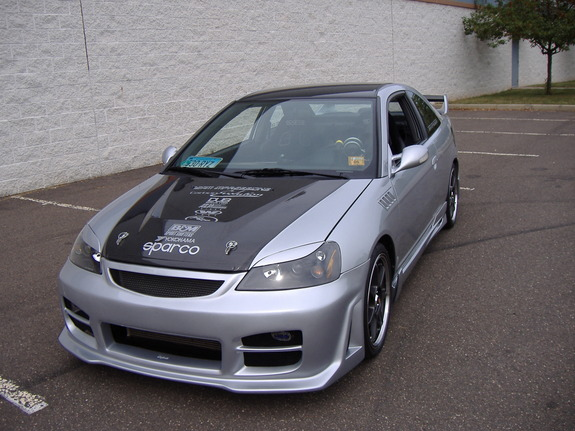 02silvercivic 2002 Honda Civic Specs Photos Modification