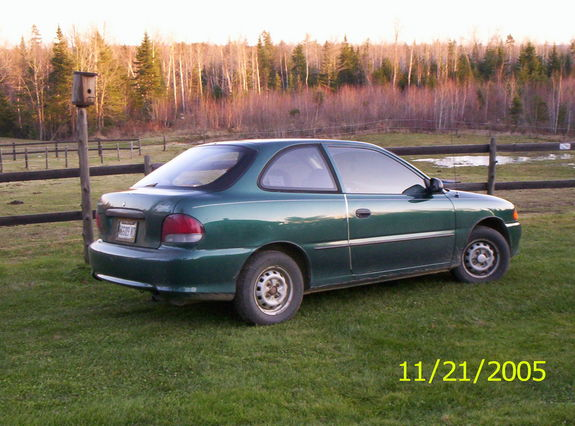 Chelsead 1999 Hyundai Accent 21817500001 Large