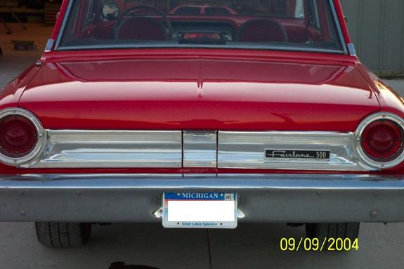 Another taker64 1964 Ford Fairlane post... - 7289047