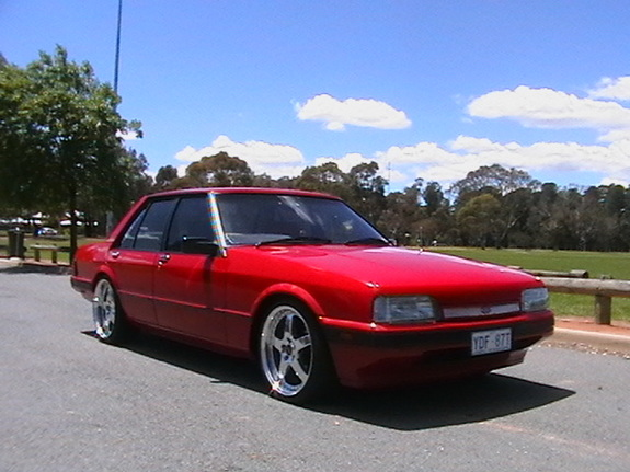 Red Xf 1987 Ford Falcon Specs Photos Modification Info