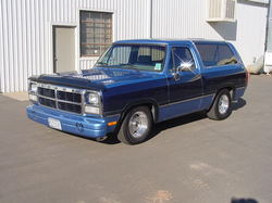 flaminram91 1991 Dodge Ramcharger