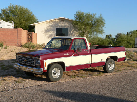 The C/K pickup truc kcame with the TH400 transmission