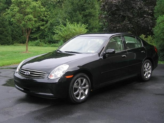 phil89 39 s 2005 infiniti g in doylestown pa. Black Bedroom Furniture Sets. Home Design Ideas
