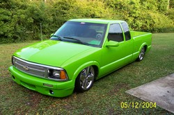 09171982 1996 Chevrolet S10 Extended Cab