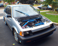 BLUEVITZ 1985 Honda Civic