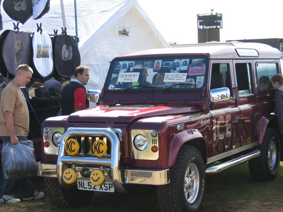 2003 Land Rover Defender 90
