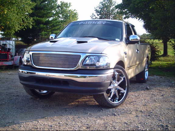rollinbigrims24s 1999 ford f150 regular cab specs photos modification info at cardomain. Black Bedroom Furniture Sets. Home Design Ideas