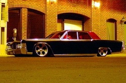 65bagged460s 1965 Lincoln Continental