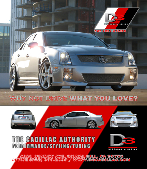 D3Auto 2006 Cadillac STS Specs, Photos, Modification Info