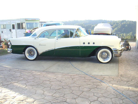 aforget 1955 Buick Special Deluxe