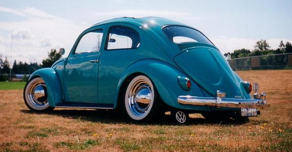 Vdubtruck 1958 Volkswagen Beetle Specs Photos