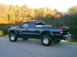 01Mudslinger 2001 Dodge Dakota Regular Cab & Chassis