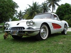 drag_on_toy 1959 Chevrolet Corvette