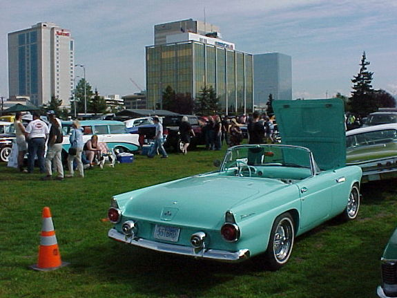 marks5557birds 1955 Ford Thunderbird