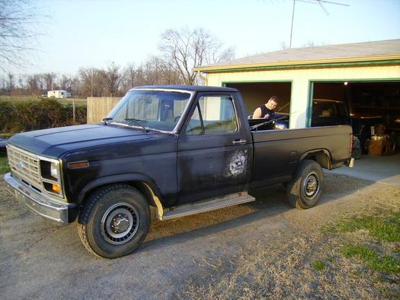 Large on Extended Cab Welding Truck