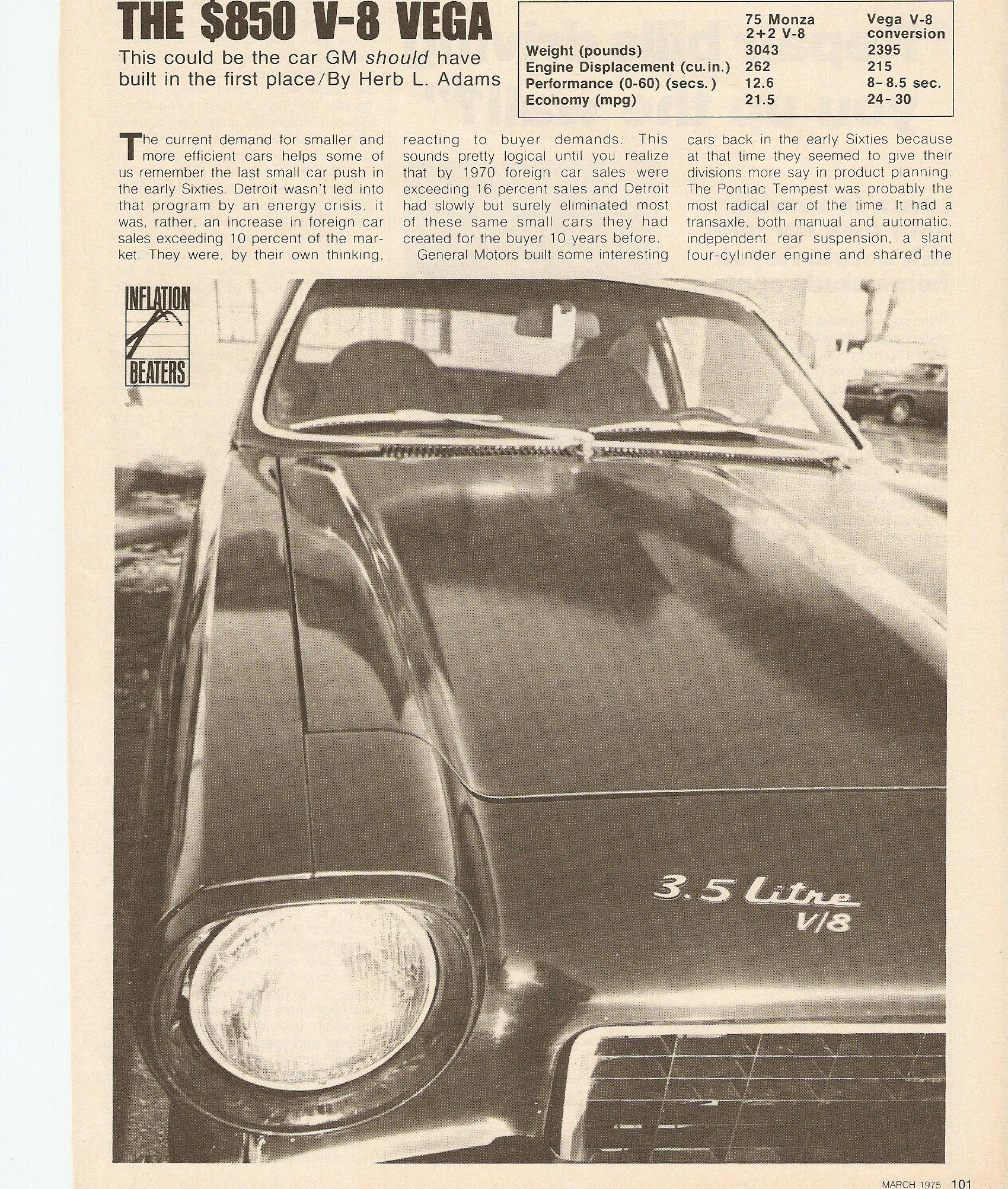 Herb Chambers Chevrolet Buick Pontiac: Another Bugdewde 1972 Chevrolet Vega Post...1559333 By