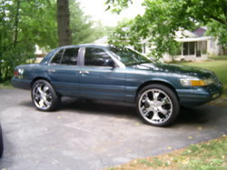 20inchchoppaz 1994 Mercury Grand Marquis