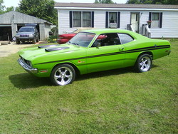 SassyGrassGreen 1971 Dodge Demon