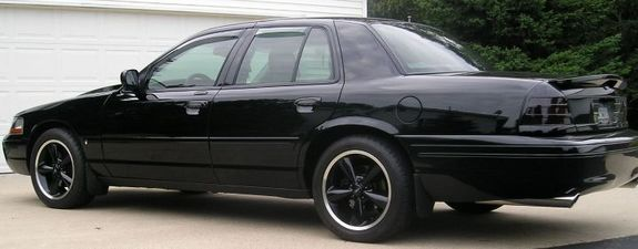 Black Panther 03 With Black Bullitt Wheels Tires